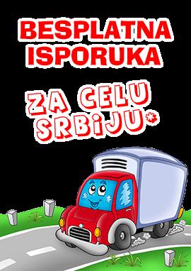 Besplatna isporuka za celu Srbiju.