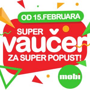 Od 15. februara SUPER VAUČER za FB pratioce!