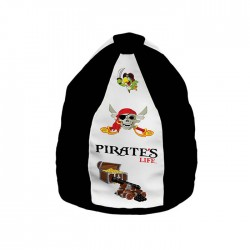 Lazy Bag M Pirates Life