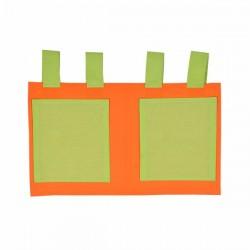 Torbice Za Krevet Narandžasta/Zelena