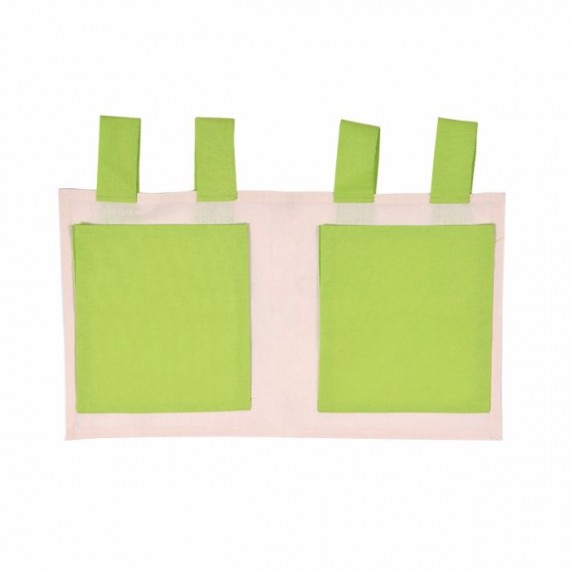 Torbice Za Krevet Zelena/Bež
